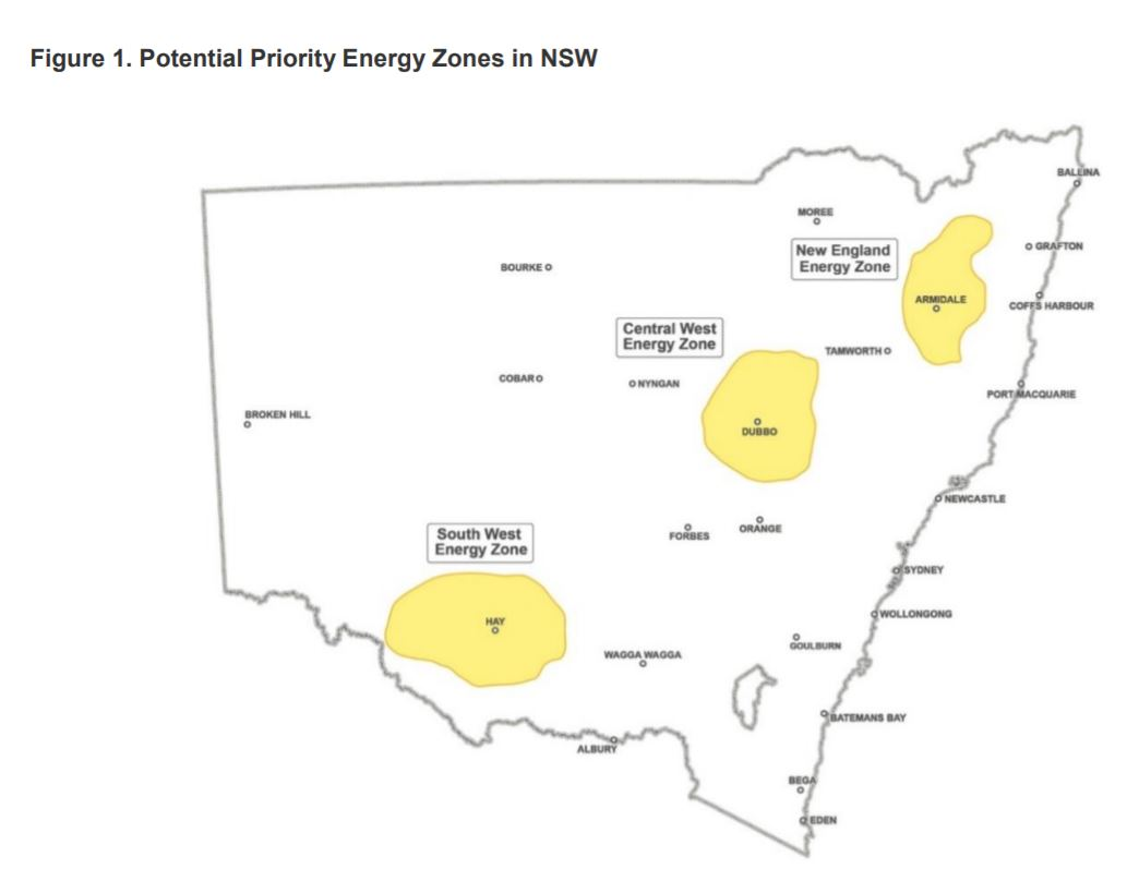 New energy zones