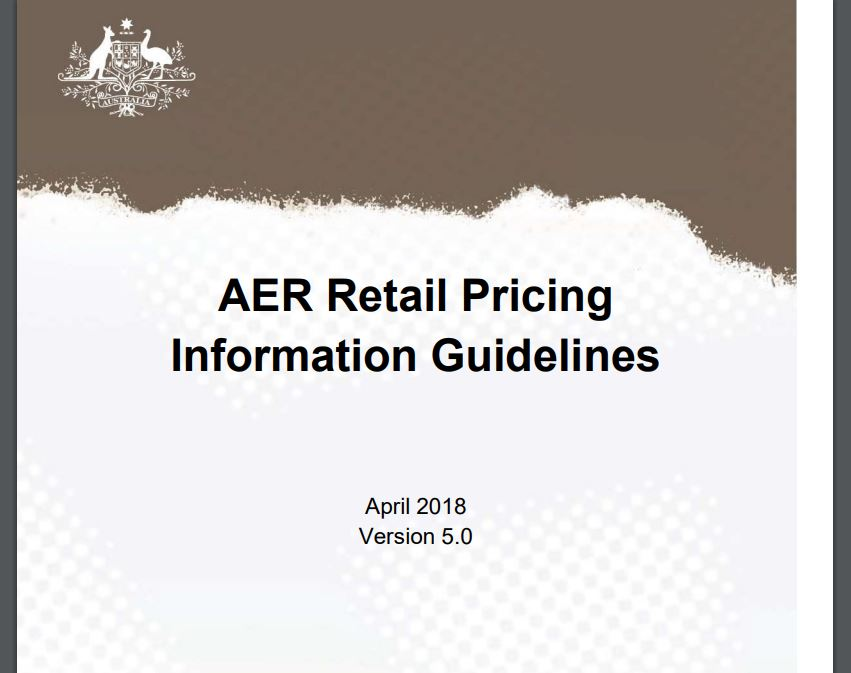 Retail Pricing Information Guidelines