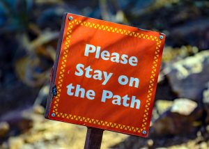 Please stay on the path - Compliance Procedures and Guidelines