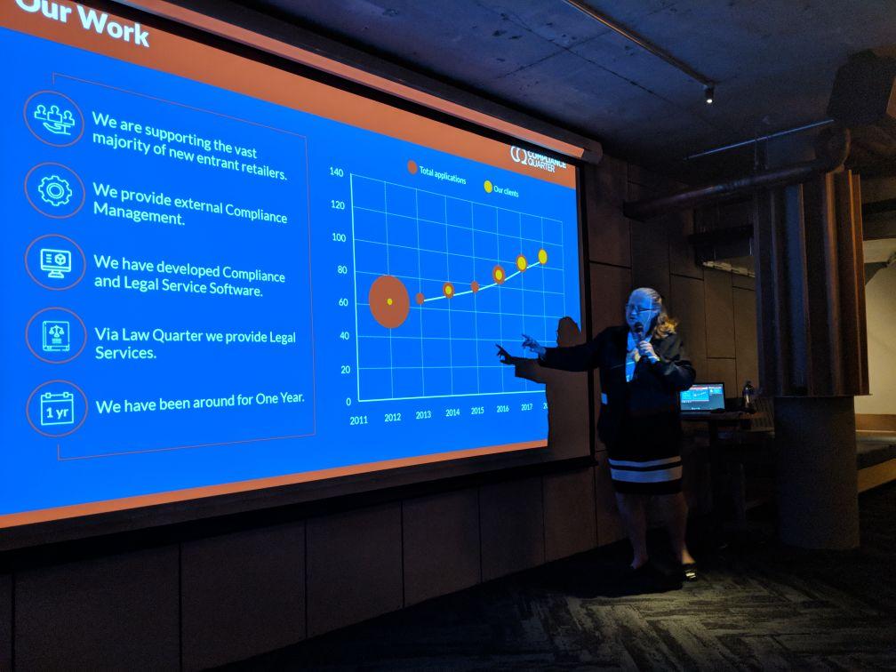 NEM Quarterly Retail Market & Regulation Update - Anne Wardell presenting