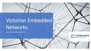 Victorian Embedded Networks: What's the deal?