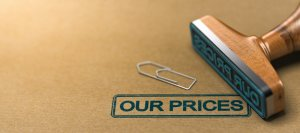Our Prices, Pricing and Tariff Conditions